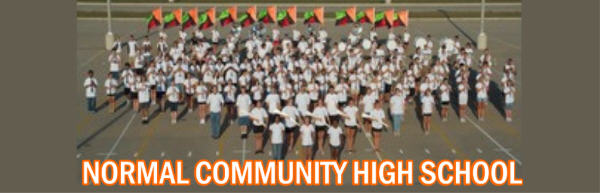 NORMAL COMMUNITY HS MARCHING BAND & GUARD